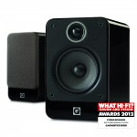 Q Acoustics 2020i Gloss Black Bookshelf Speakers