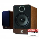 Q Acoustics 2020i Walnut Bookshelf Speakers