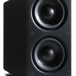 Q Acoustics 2070Si Gloss Black Active Subwoofer Speaker