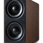 Q Acoustics 2070Si Walnut Active Subwoofer Speaker