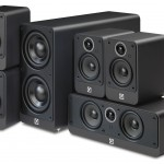 Q Acoustics 2000i Graphite 5.1 Home Cinema Speaker Package