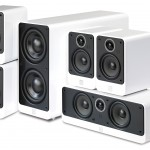 Q Acoustics 2000i Gloss White 5.1 Home Cinema Speaker Package