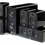 Q Acoustics 2000i Gloss Black 5.1 Home Cinema Speaker Package