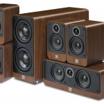 Q Acoustics 2000i Walnut 5.1 Home Cinema Speaker Package