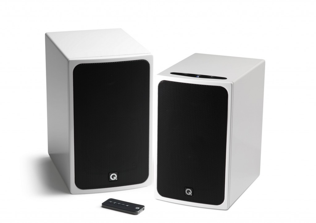 Q Acoustics Bt3 Active Bluetooth Speakers on 2 channel line output converter
