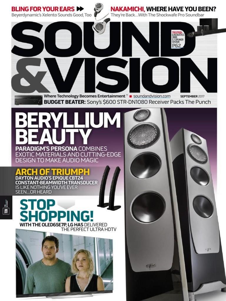 Sound & Vision - September Cover