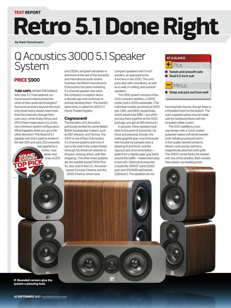 Q Acoustics 3000 5.1 review