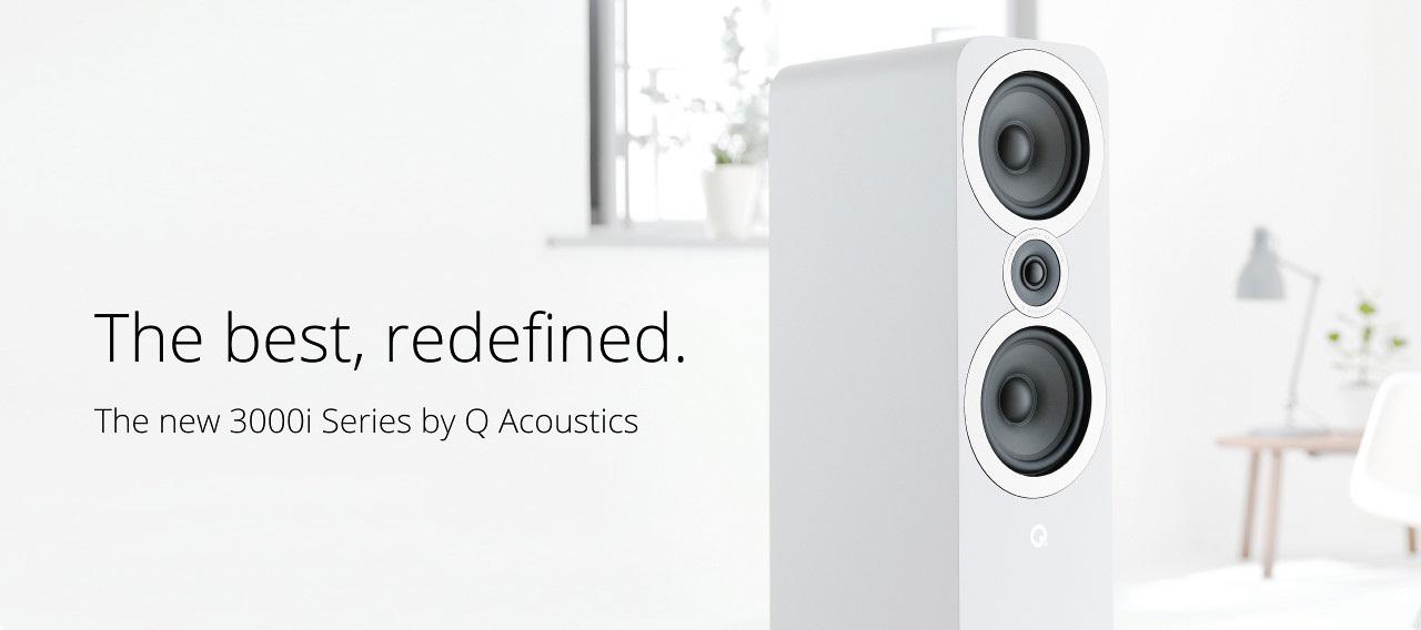 Q Acoustics 2018 3000i Speaker Range Worldwide Responses