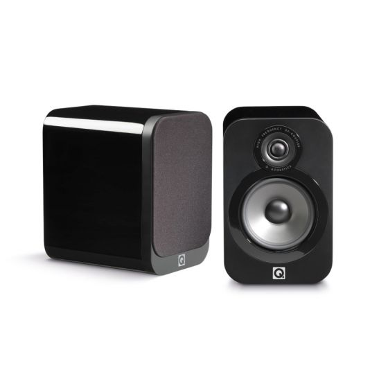 Q Acoustics 3020 Bookshelf Speakers Pair