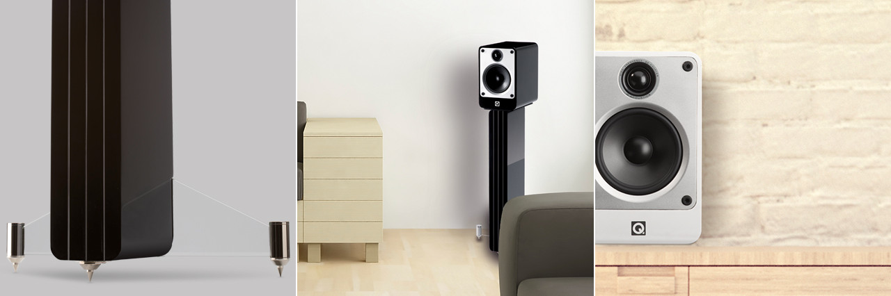 Q-Acoustics M4 High Fidelity Audio Reproduction