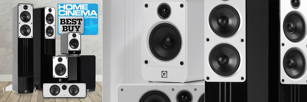 Q-Acoustics Concept 5.1 Home Cinema Speaker Package