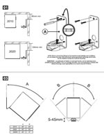Q Acoustics 2000i Series Bracket Instructions