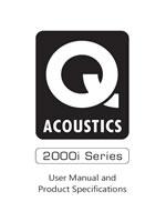 Q Acoustics 2000i Series Manual